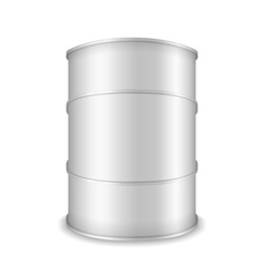 White barrel vector