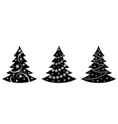 Mas trees illustration in vector vector