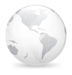 Icon globe vector