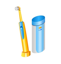 Icon toothbrush vector