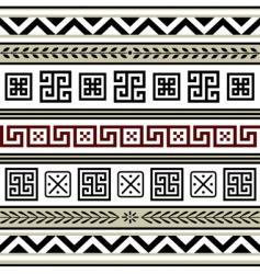Antiques borders vector