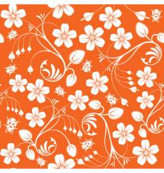 Floral nature wallpaper design vector