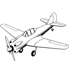 Propeller air plane vector