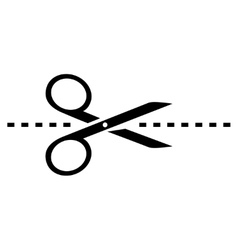Scissors icon vector