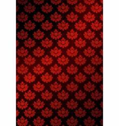 Illustration of red wallpaper vector
