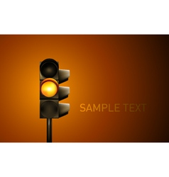 Traffic lamp vector
