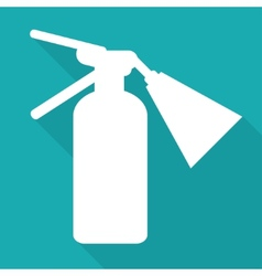 Fire extinguisher icon vector