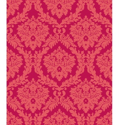 Damask red vector