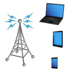 Communication antenna and electric device vector