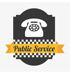 Public service vector
