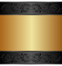Gold and background vector