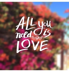 All you need is love vector