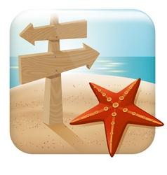 App icon for web applica vector