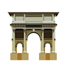 Arch architectural structure vector