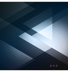 Elegant geometric blue background vector