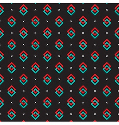 Simply colorful pattern vector