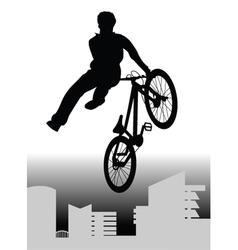 Bmx rider vector