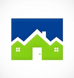 Home resident logo vector