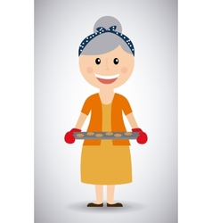 Grandmother day vector