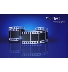 Modern film vector