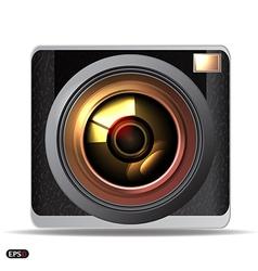 Retro camera vector