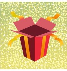 Birthday gift box vector
