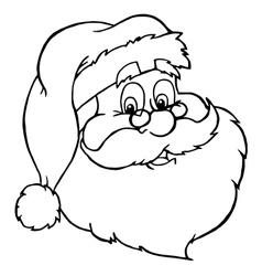 Santa cartoon vector