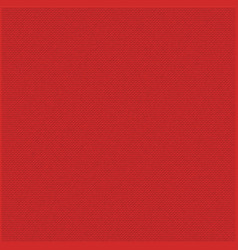 Red fabric texture background vector