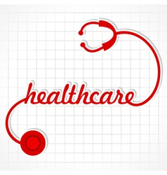 Stethoscope make healthcare word vector