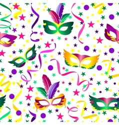 Carnival seamless background vector