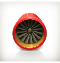 Turbine icon vector
