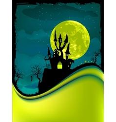 Dark scary halloween night eps 8 vector