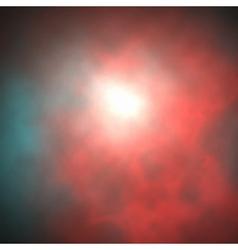 Red smoke vector