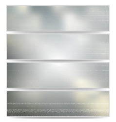 Abstract unfocused natural headers blurred design vector