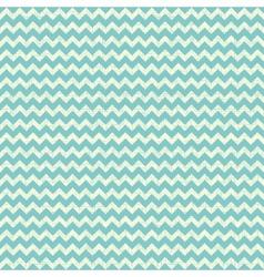 Seamless chevron pattern on linen turquoise canvas vector