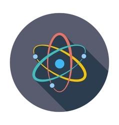 Atom icon vector