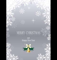Christmas or new year background vector