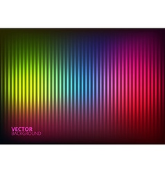 A colored music equalizer vector