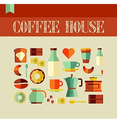 Coffee house concept vector