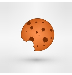 Sweet cookie vector