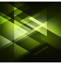 Elegant geometric green background vector