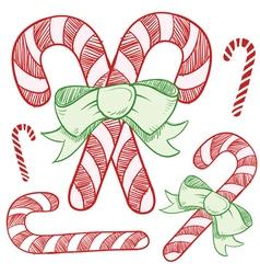 Christmas sketches vector