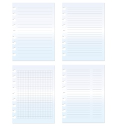 Paper set graph and lined vector