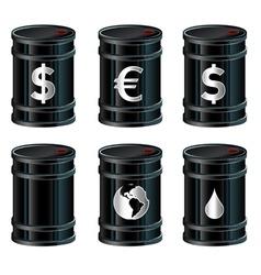 Oil drum vector