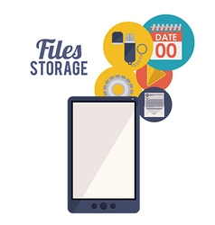 File storage design vector