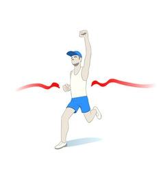 Fastest runner vector
