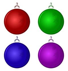Christmastree decoration vector