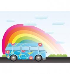 Cartoon bus vector