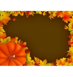 Thanksgiving holiday frame eps 8 vector