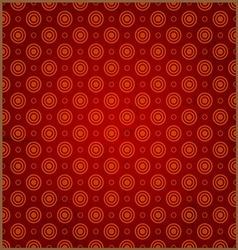 Red circle background vector